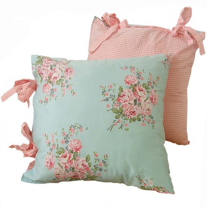 Shabby Bella Rose Cushion Cover