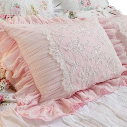 Romantic Pink Pillow Sham