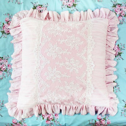 Romantic Pink Pillow Sham