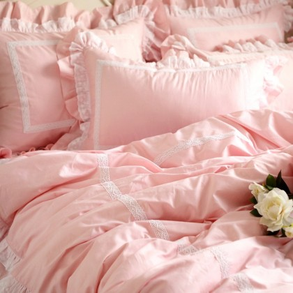 Sweet Ruffle Duvet Cover Set