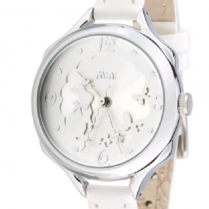 Bunny Rabbit Watch, White
