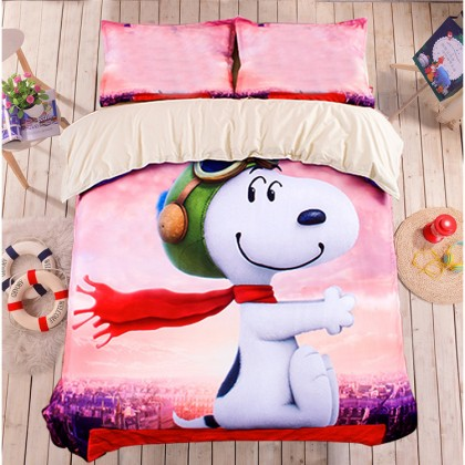 Snoopy Magic Carpet Duvet Cover Set