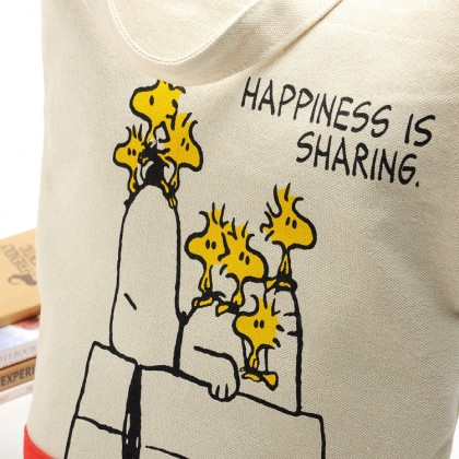 Peanuts Snoopy Canvas Bag