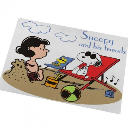 Peanuts Snoopy Beach Floor Mat