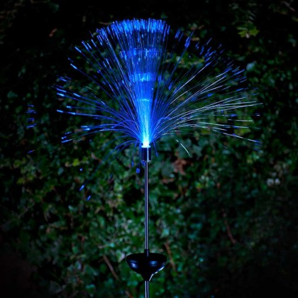 Outdoor Solar LED Fiber Optic Lamp