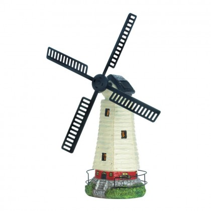 Solar Powered Windmill Lighthouse