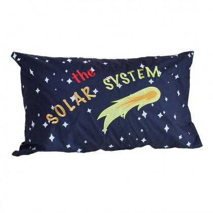 Solar System Glow in the Dark Pillow Sham
