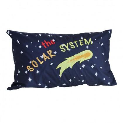 Solar System Glow in the Dark Pillow Sham