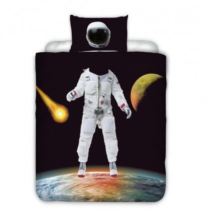 Astronaut Space Duvet Cover Set