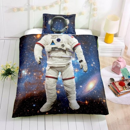 Astronaut Space Duvet Cover Set A