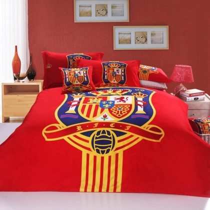 Spain National Football Team Duvet Cover Set
