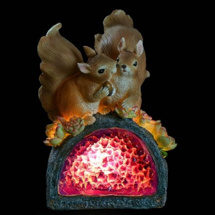 Squirrel Solar Garden Light