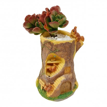 Squirrel Trunk Plant Pot Organizer