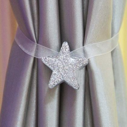 Star Magnetic Curtain Holdbacks