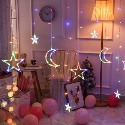 Sparkle Twinkle Stars Fairy String Lights-Romantic Night Light Indoor Light