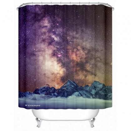 Star Sky Shower Curtain