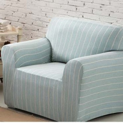 Stripe Stretch Sofa Slipcover