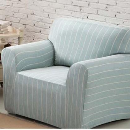 Stripe Stretch Sofa Slipcover