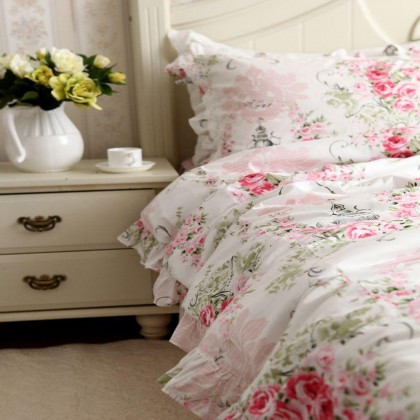 Victorian Pink Rose Bedding