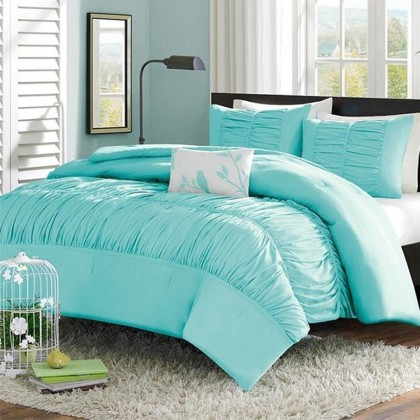 Tiffany Blue Duvet Cover Set