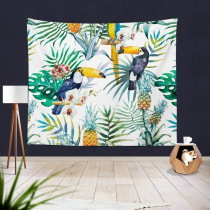 Toucan Tropical Summer Tapestry