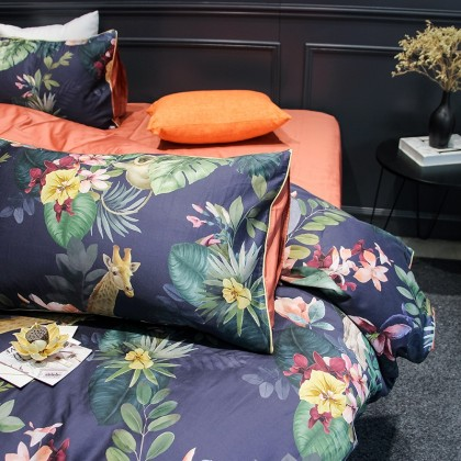 Tropical Fantasy Egyptian Cotton Duvet Cover Set