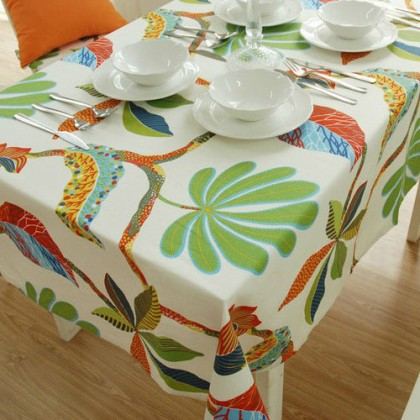 Tropical Rainforest Tablecloth