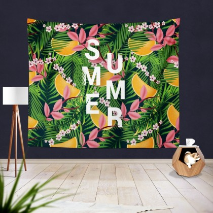 Summer Tropical Tapestry