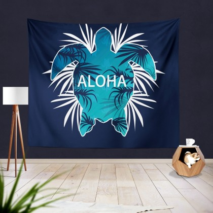 Blue Turtle Tapestry