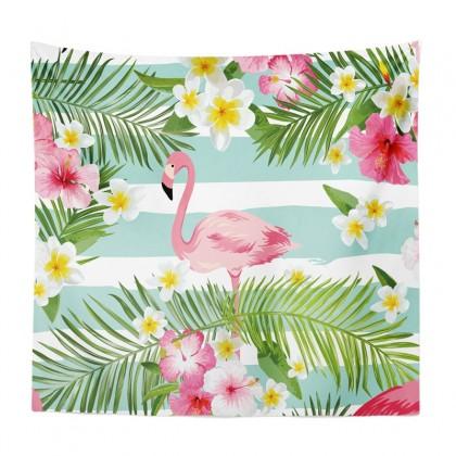Pink Flamingo Tapestry