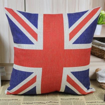 UK Union Jack Flag Cushion Cover