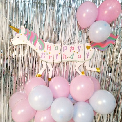 Unicorn Birthday Party Wall Decor