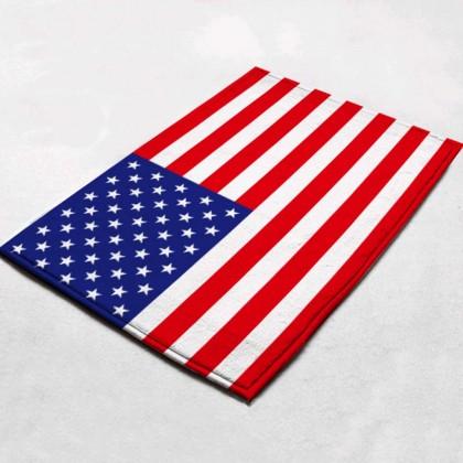 US Flag Doormat Rug