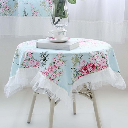 Custom Made Victorian Tablecloth