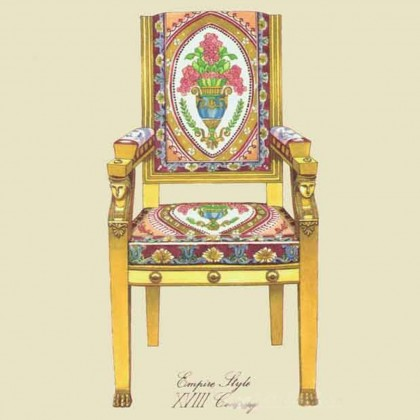 Vintage Chair Canvas Print B