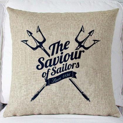 Saviour of Sailors Cushion Cover