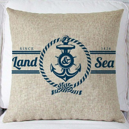 Land & Sea Cushion Cover
