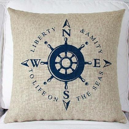 Liberty & Amity Cushion Cover