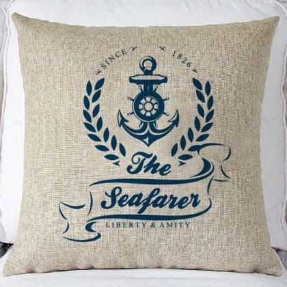 The Seafarer Cushion Cover