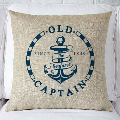Old Captain Cushion Cover