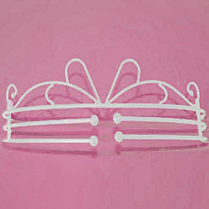 White Bed Crown Set