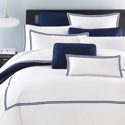 Sailor White Duvet Cover Set
