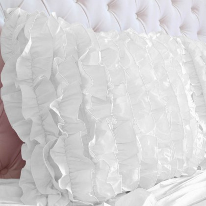 Sweet Dream Cushion Cover, White