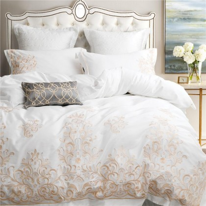 Baroque Embroidery Duvet Cover Set