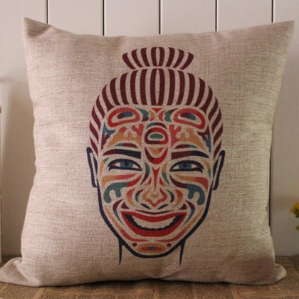 Man and Woman Cushion Cover