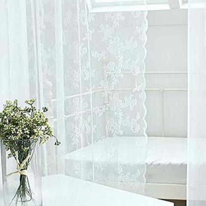 Romantic Rose Sheer Panel