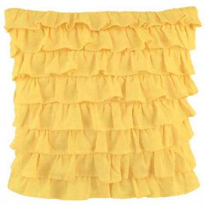Clara Ruffled Sham, Yellow