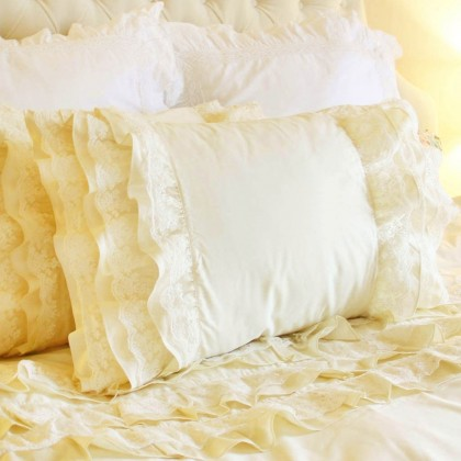 Lace Whisper Duvet Cover Set