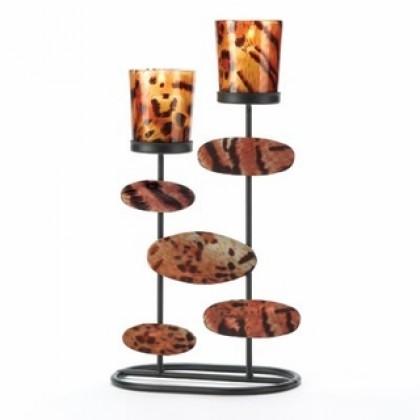 Tiger-Riffic Candleholder