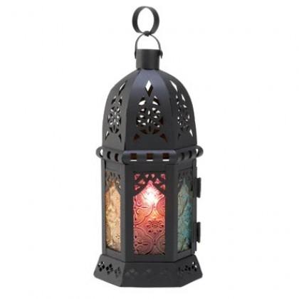 Enchanted Rainbow Candle Lantern
